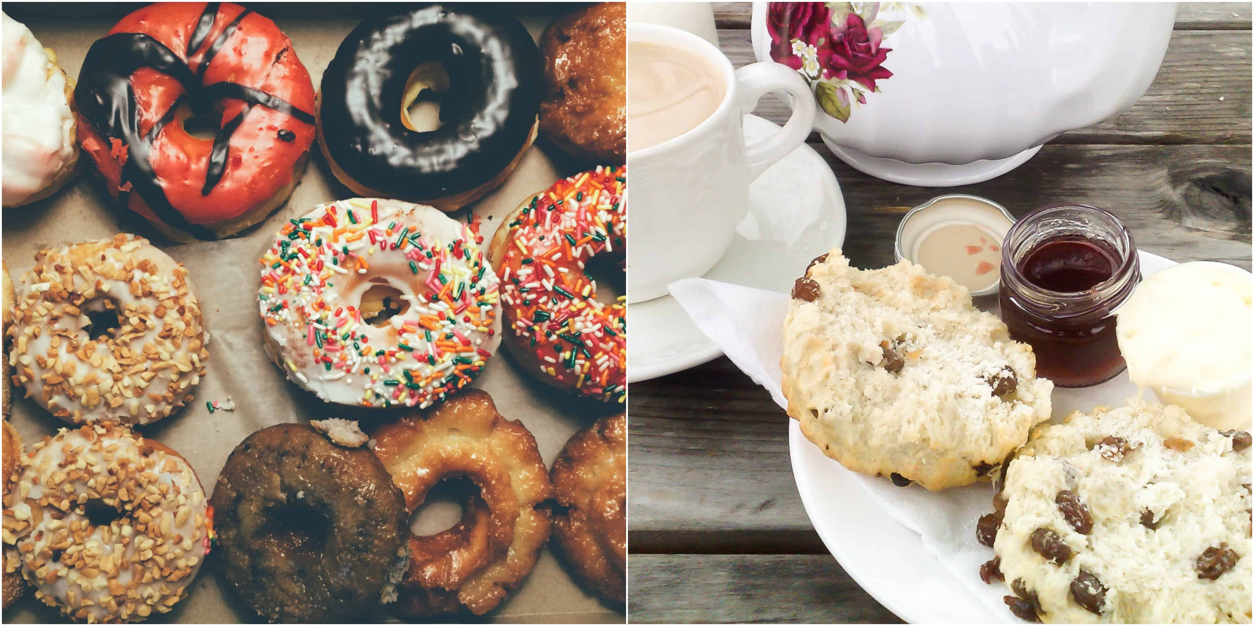 California Donuts to English tea and scones