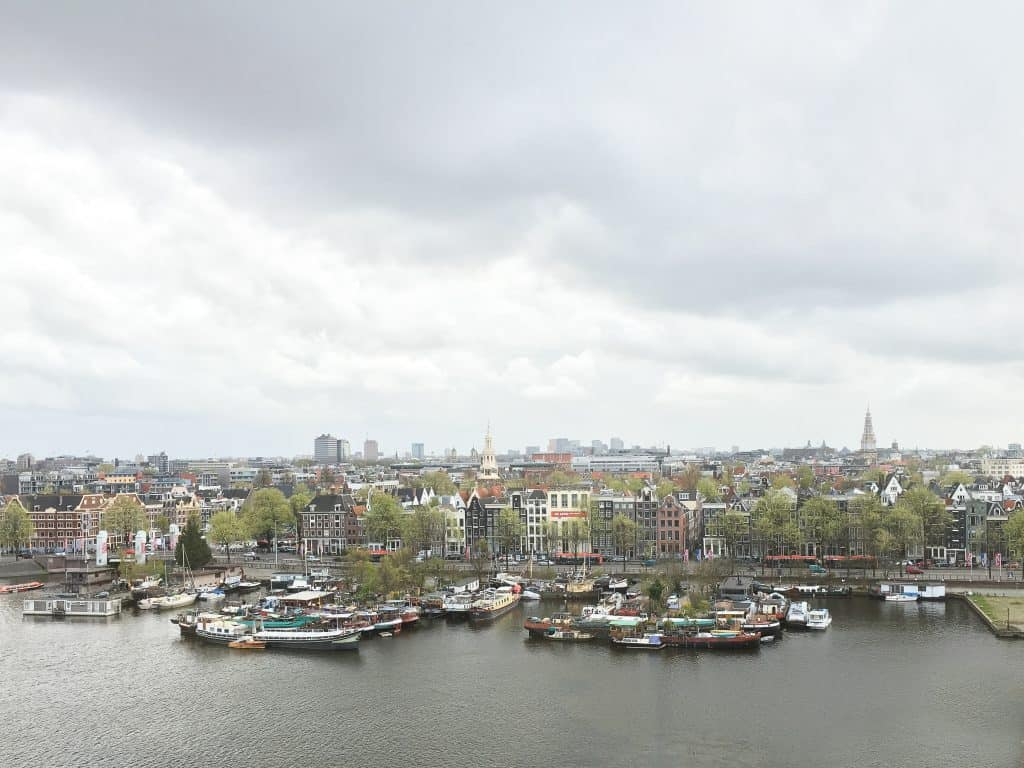 Amsterdam Off the Beaten Path | Amazing view from the Public Library