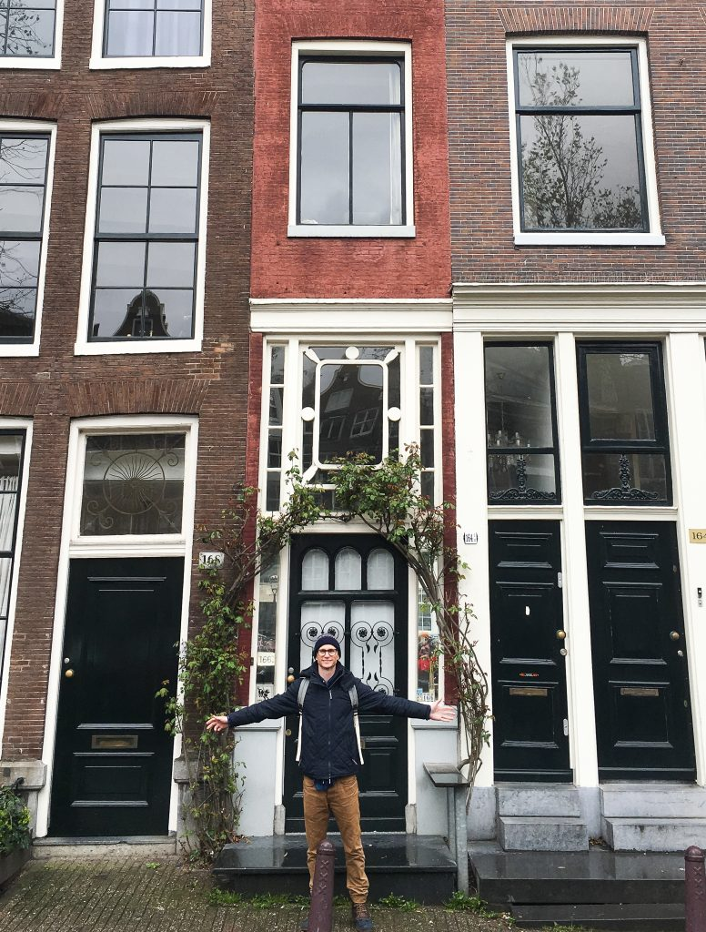 Amsterdam off the beaten path | The narrowest Canal House