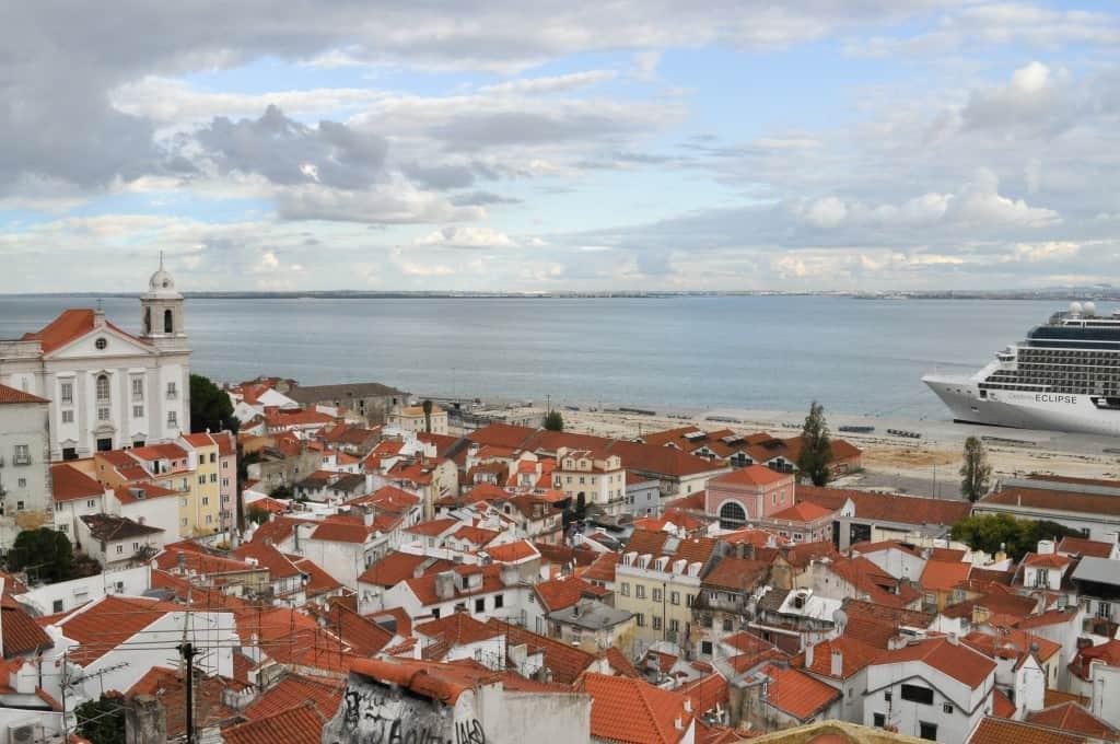 Lisbon Portugal Tagus River