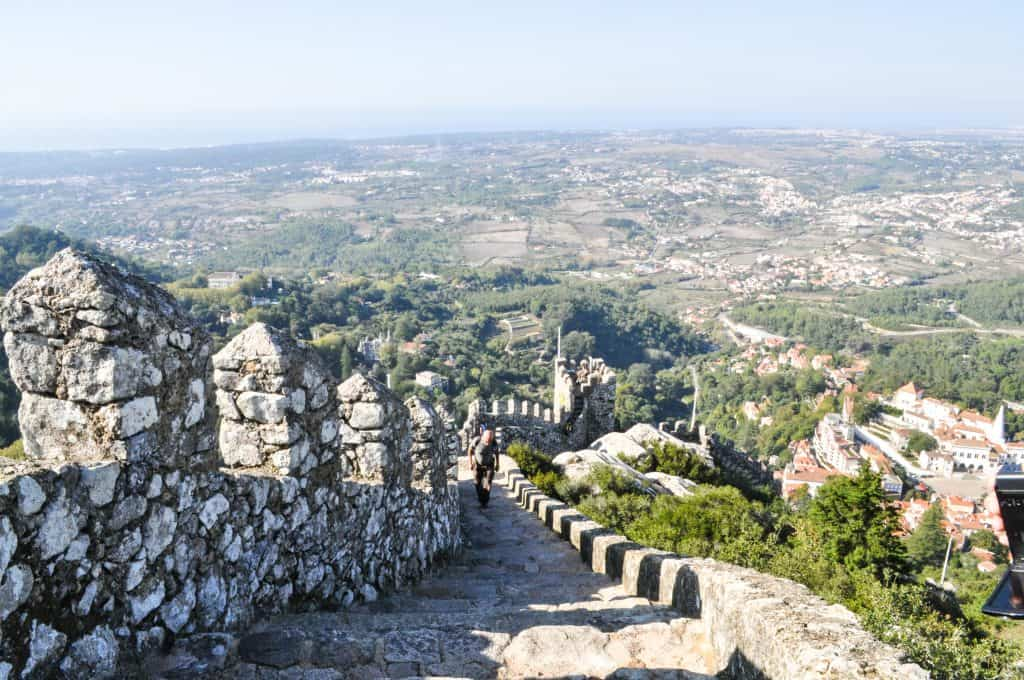 Day trip to Sintra from Lisbon, Portugal | Castelo dos Mouros - Moors Castle in Sintra