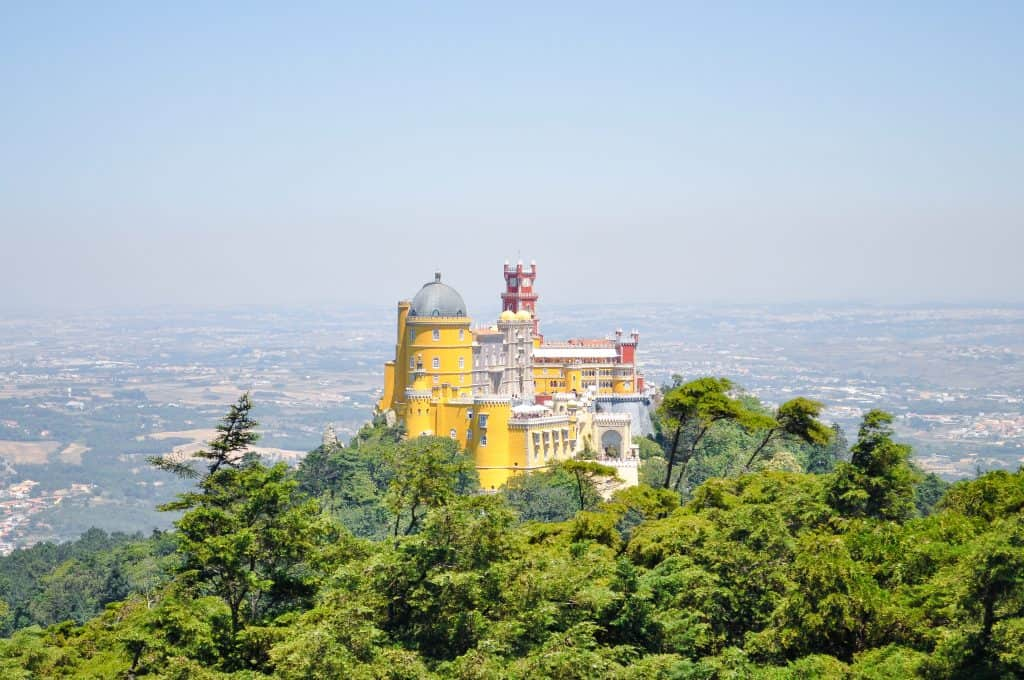 The 19 Best Places to Visit in Portugal | Pena Palace in Sintra