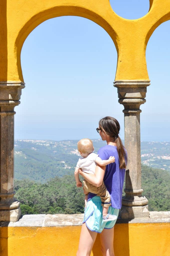 Pena Palace in Sintra, Portugal | The best day trip from Lisbon | How to spend on day in Sintra, Portugal