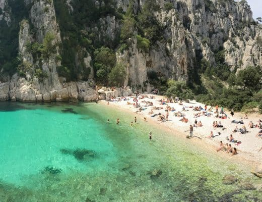 Hiking Les Calanques near Cassis, France