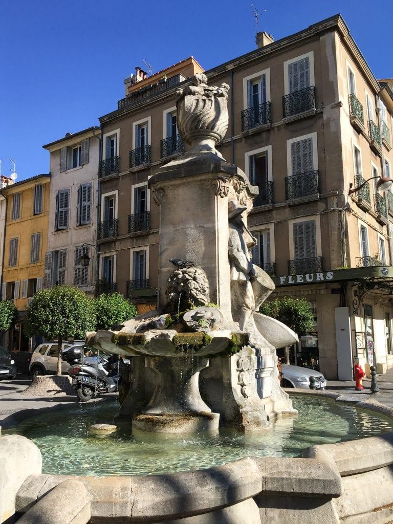 Fontaine Aix-en-Provence France
