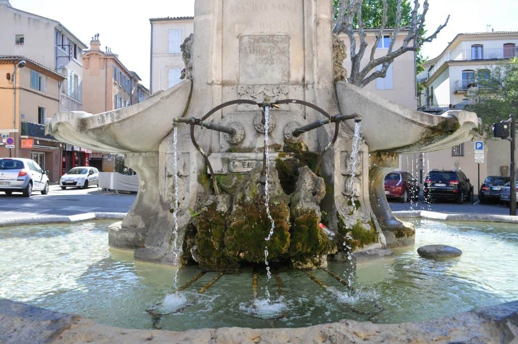 Fontaine Aix-en-Provence France