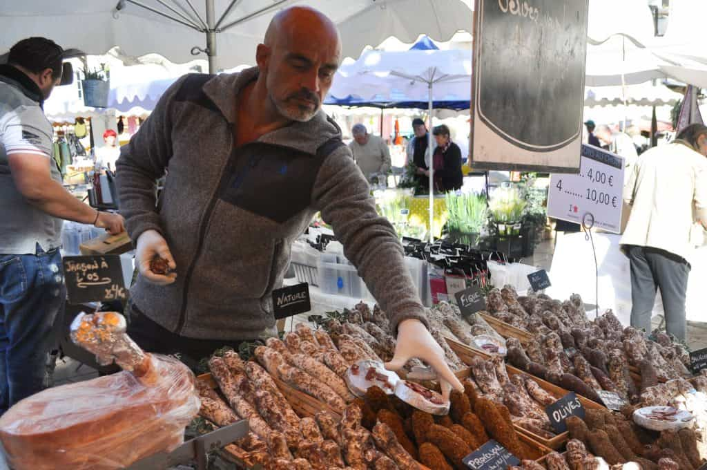 Cassis Provence France Market