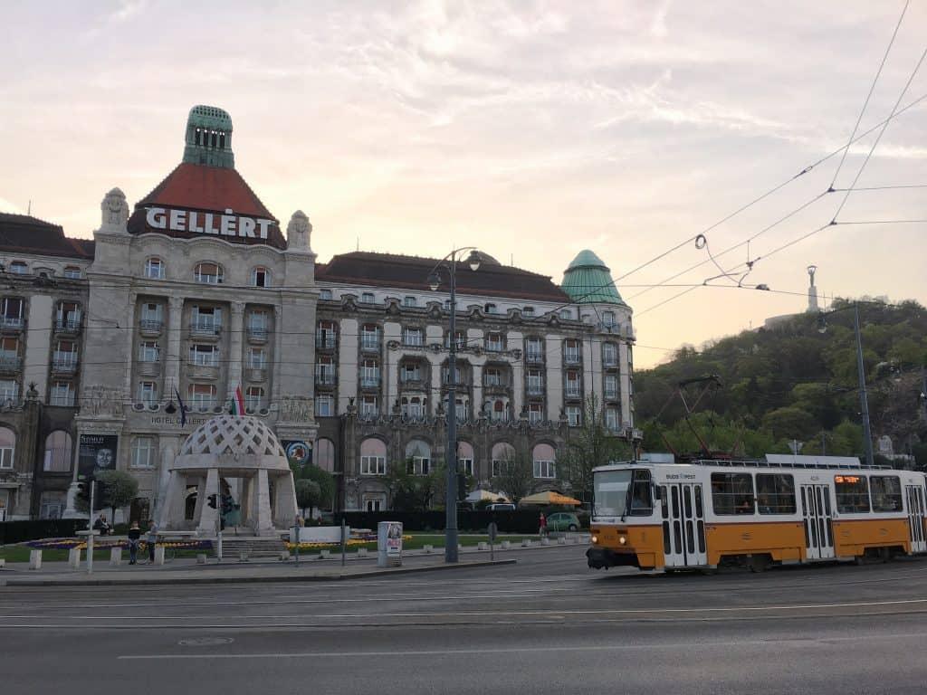 Gellert Hotel Budapest Hungary