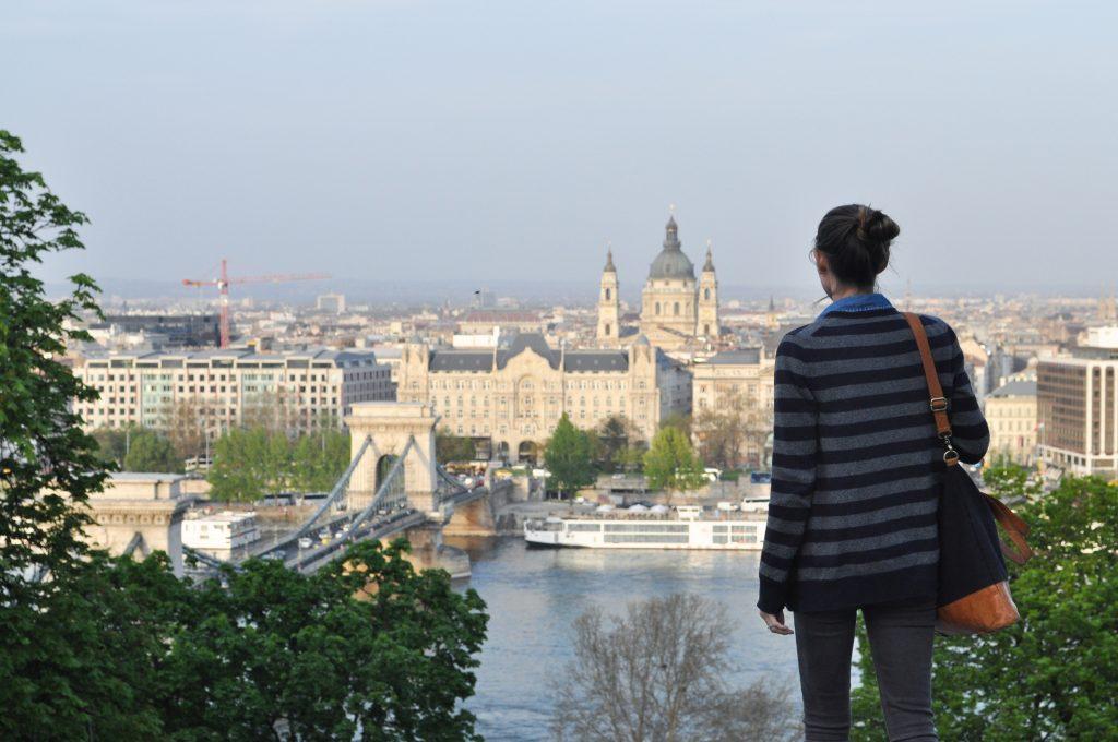 Gresham Palace Buda Castle Budapest Hungary