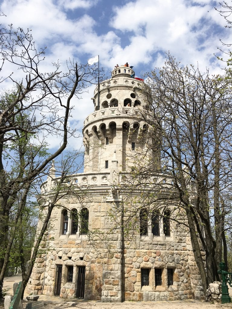 Elizabeth Lookout Tower Buda Hills Budapest Hungary