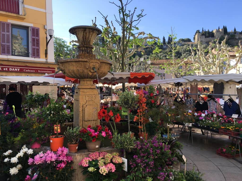 Farmers' Market in Cassis, France