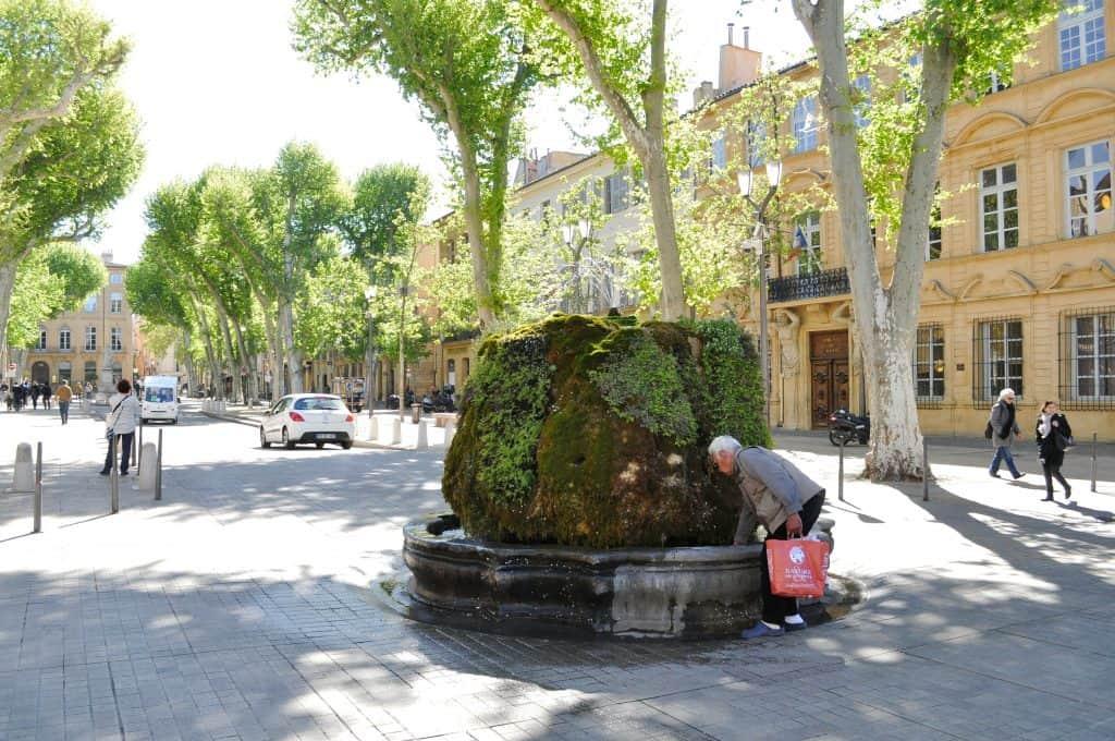 Fontaine Moussue Aix-en-Provence France