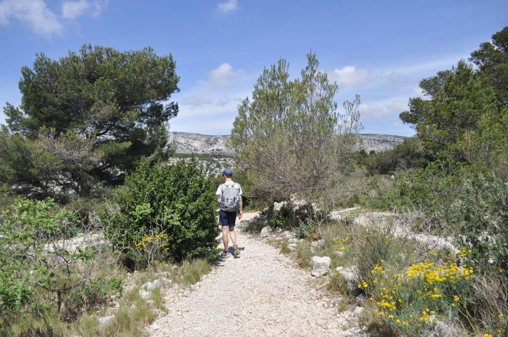 Hiking Les Calanques in Provence France