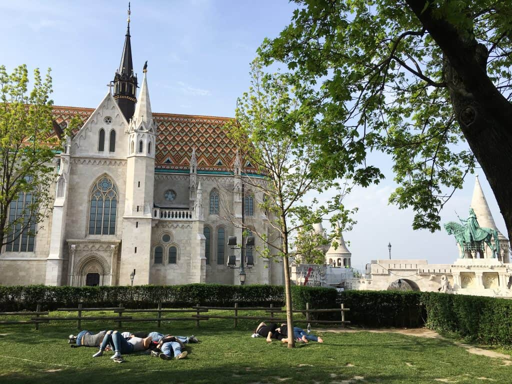 Matthias Church Buda Castle District Budapest Hungary