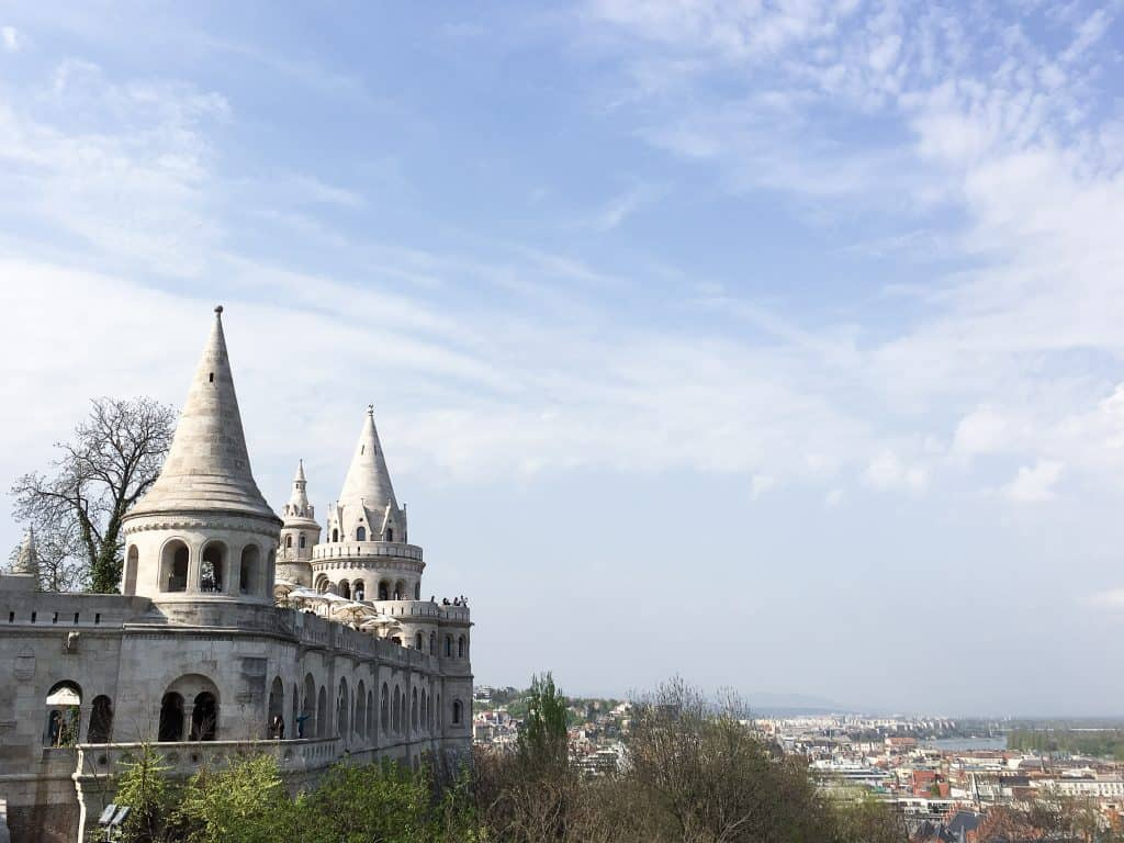Things to do in Budapest, Hungary | Fisherman's Bastion Buda Castle District