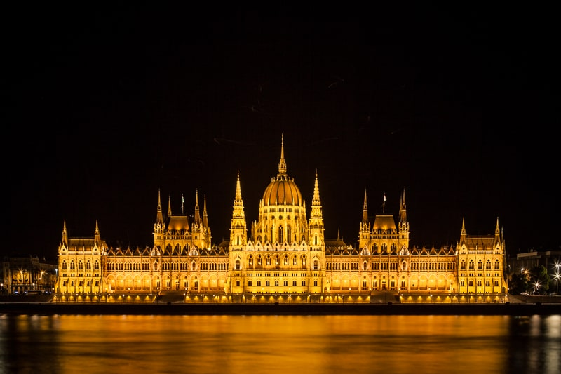 Hungarian Parliament Building Budapest, Hungary Danube river