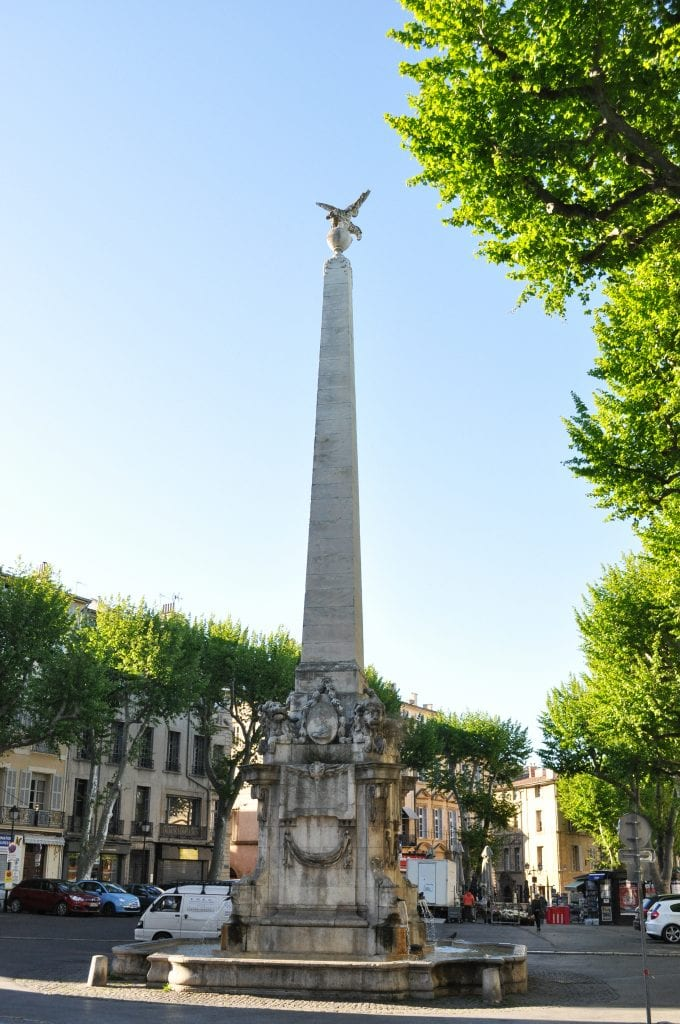 Fountaine Aix-en-Provence France