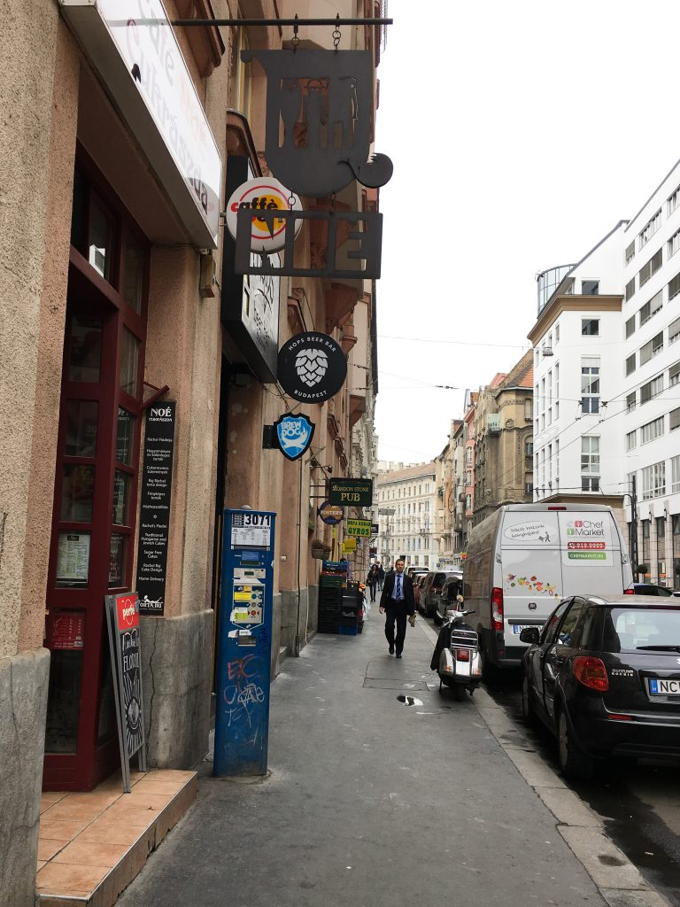 Cafe Noe by Rachel Raj   Jewish District Budapest Hungary