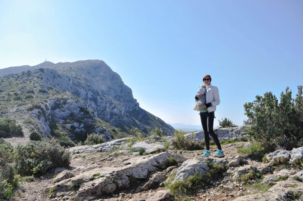 Hiking Montagne Sainte-Victoire in Provence, France: Sainte-Victoire Mountain near Aix-en-Provence
