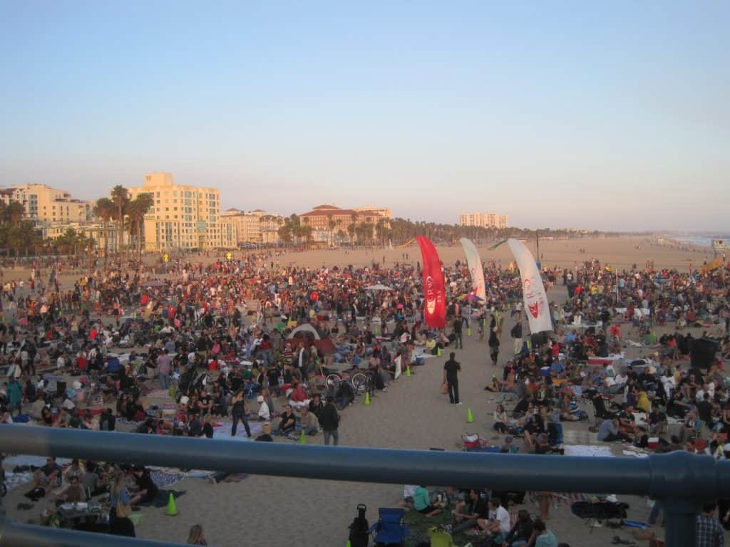 Los Angeles Free Summer Concerts Twilight Series at Santa Monica Pier