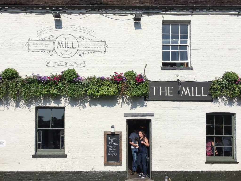 The Mill pub in Cambridge, England