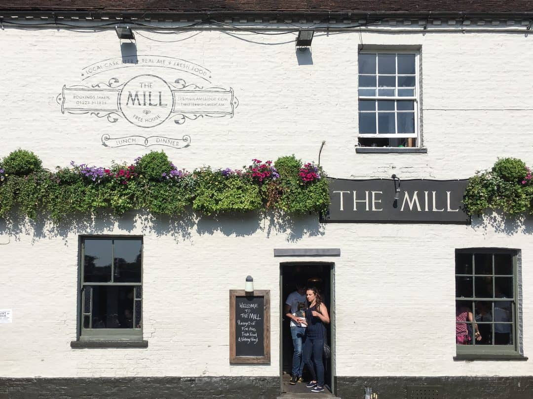 The Mill pub in Cambridge, England