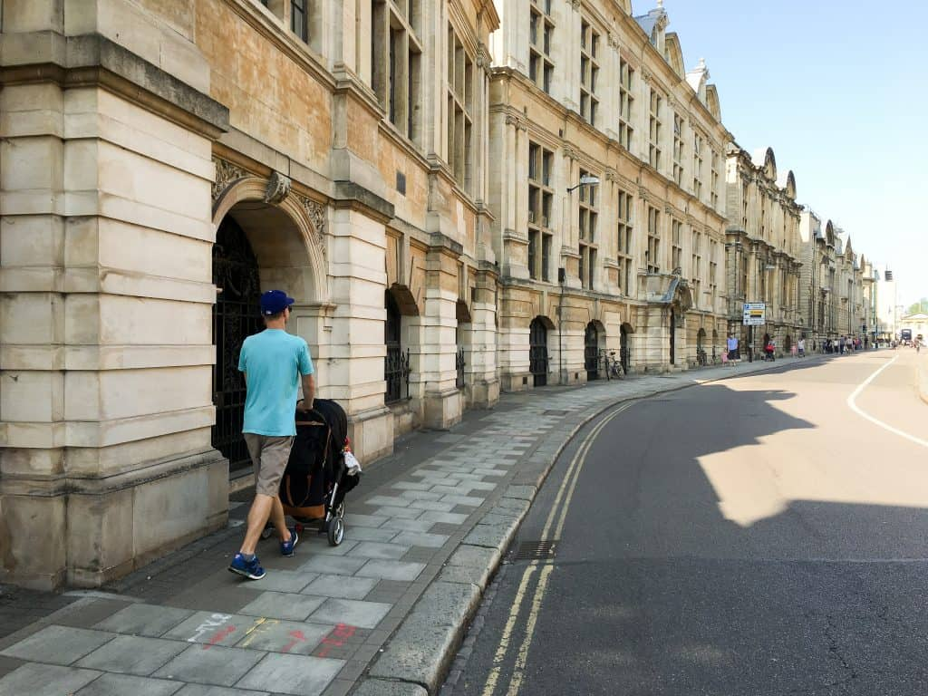 Pembroke Street in Cambridge, England | Oxford vs Cambridge: The best English University town