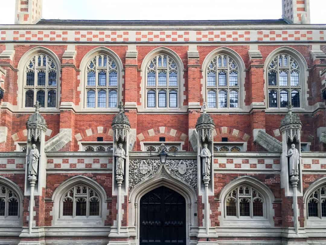 The Divinity School, St John's College, Cambridge University