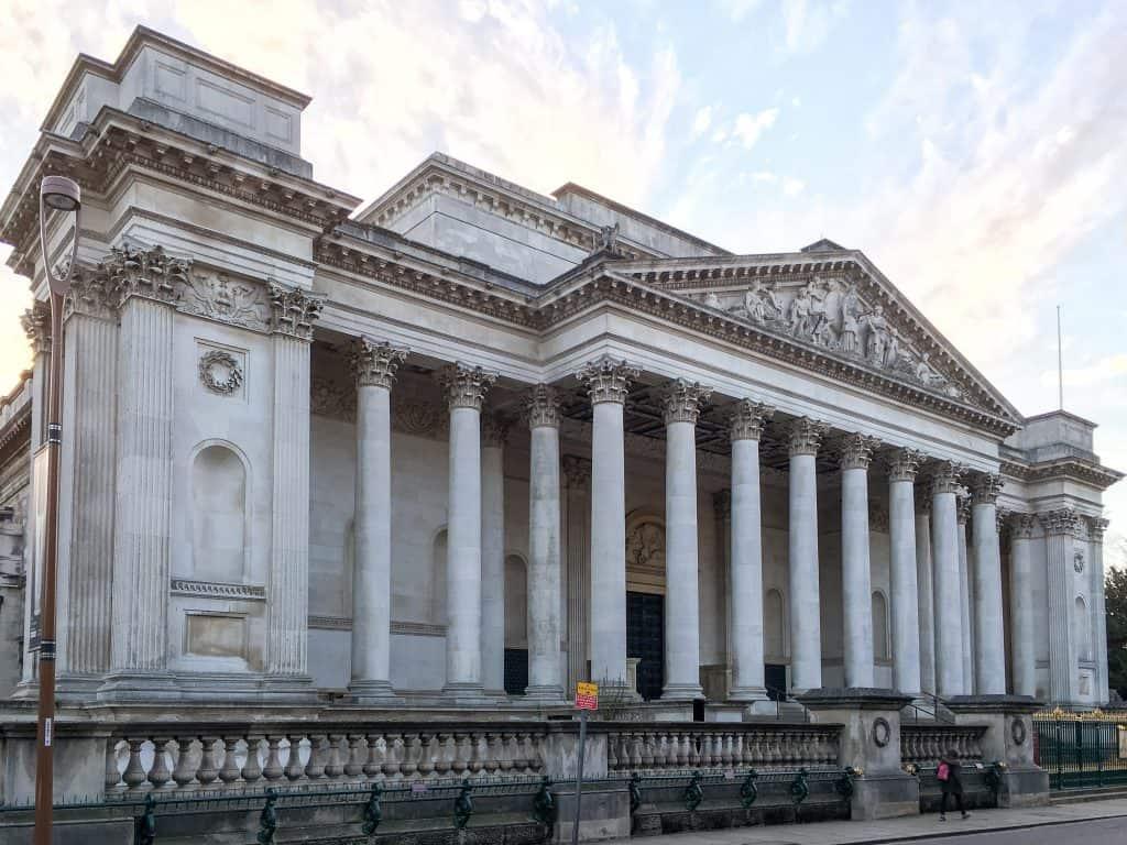 The Fitzwilliam Museum in Cambridge, England