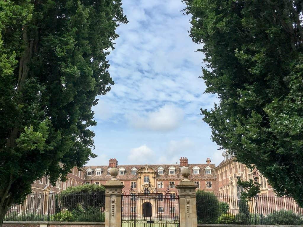 St. Catherine's College at University of Cambridge, England