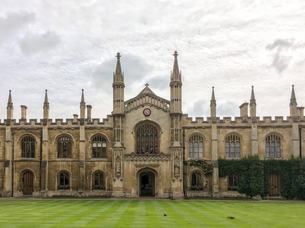 Corpus Christi College at University of Cambridge https://nomanbefore.com/index.php/2016/08/02/best-cambridge-colleges/