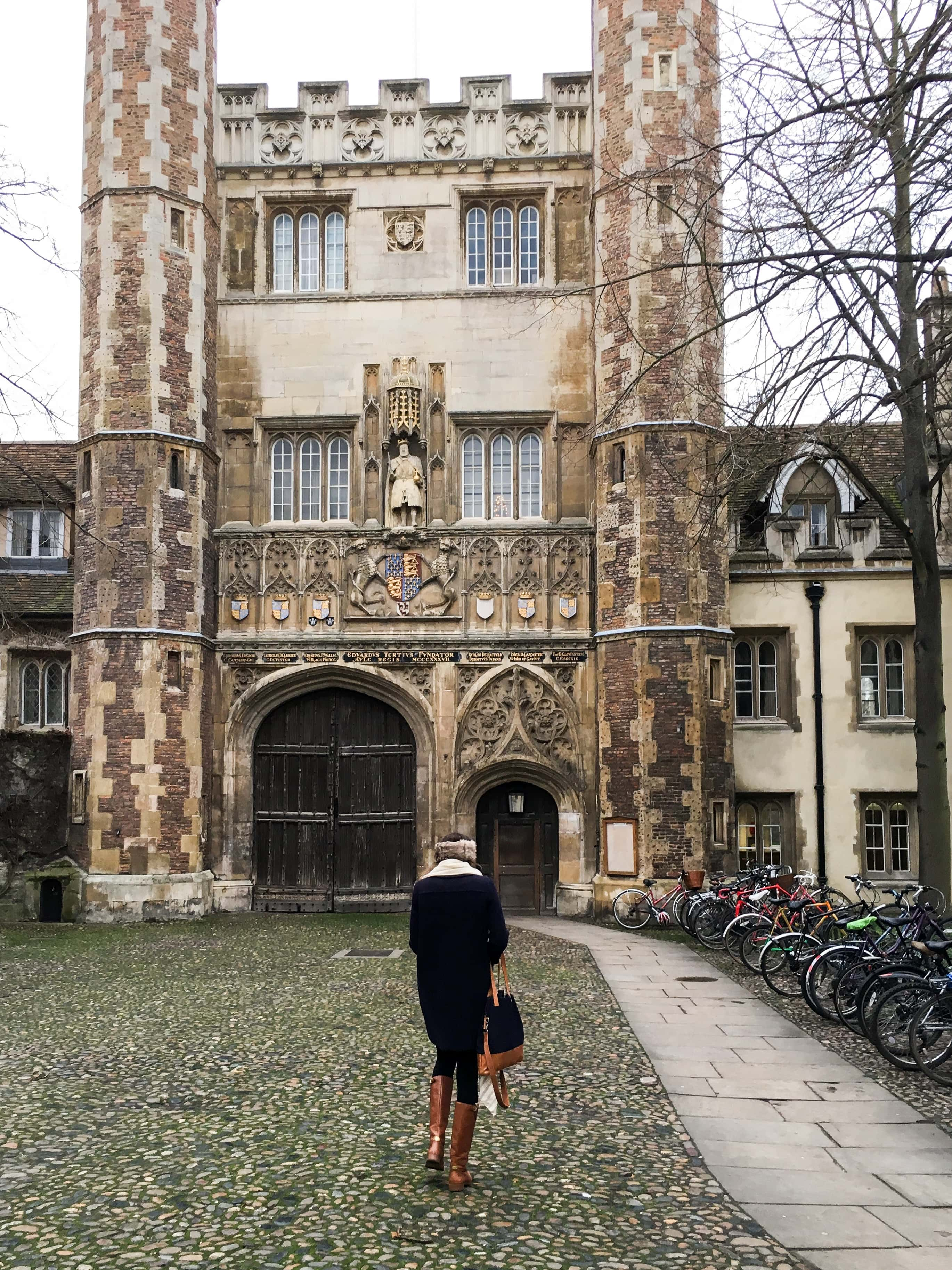 Visit Trinity College on a Cambridge day trip