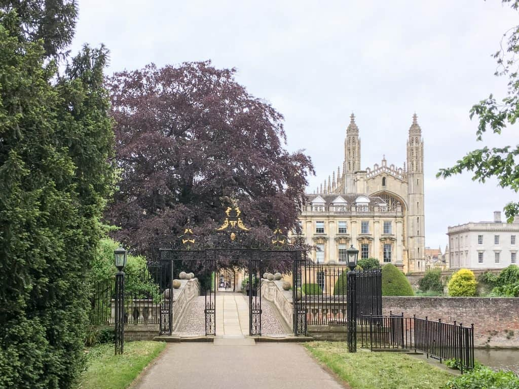 Clare College at the University of Cambridge
