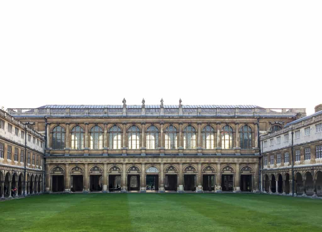 Wren Library, Trinity College at the University of Cambridgehttps://nomanbefore.com/index.php/2016/08/02/best-cambridge-colleges/