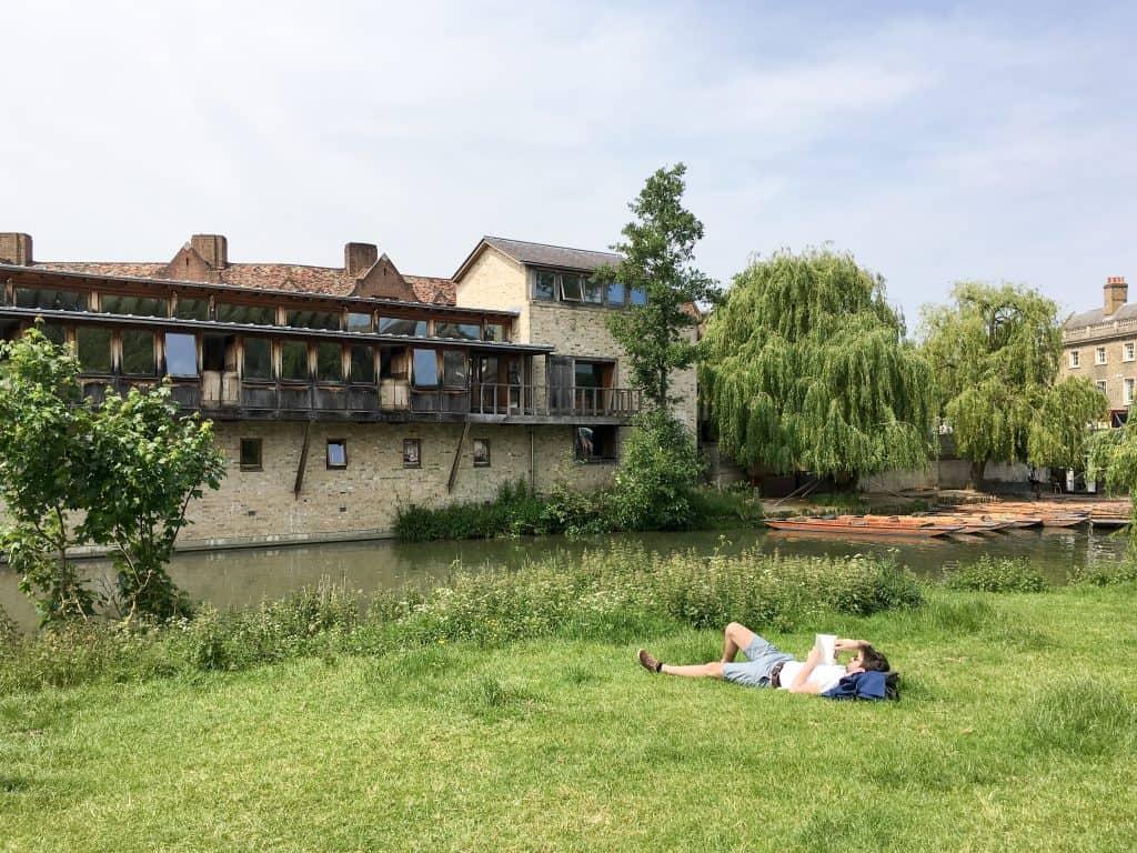 Churchill College at the University of Cambridge, England   Oxford vs Cambridge: The best English University town