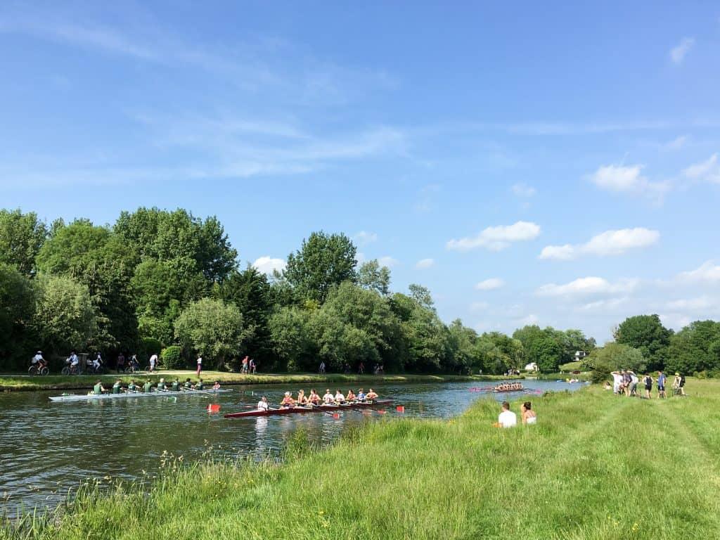 River Cam in Cambridge, England   Oxford vs Cambridge: The best English University town