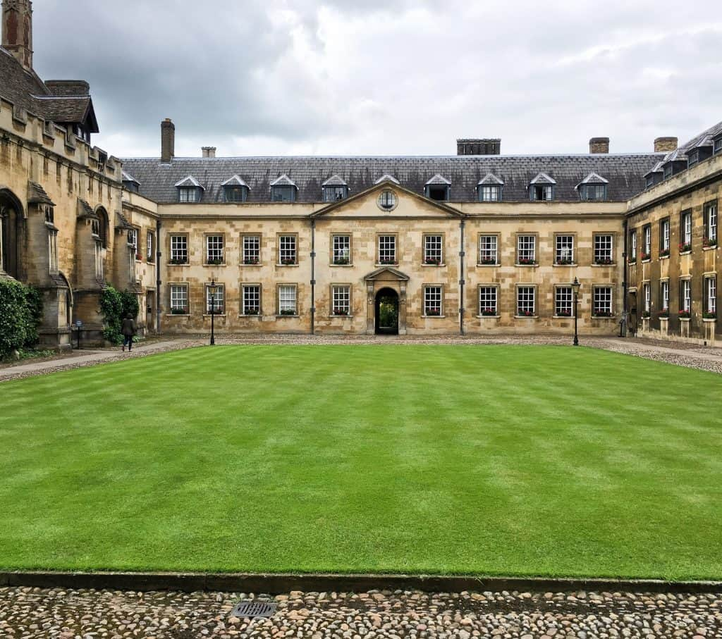 Peterhouse in Cambridge, England