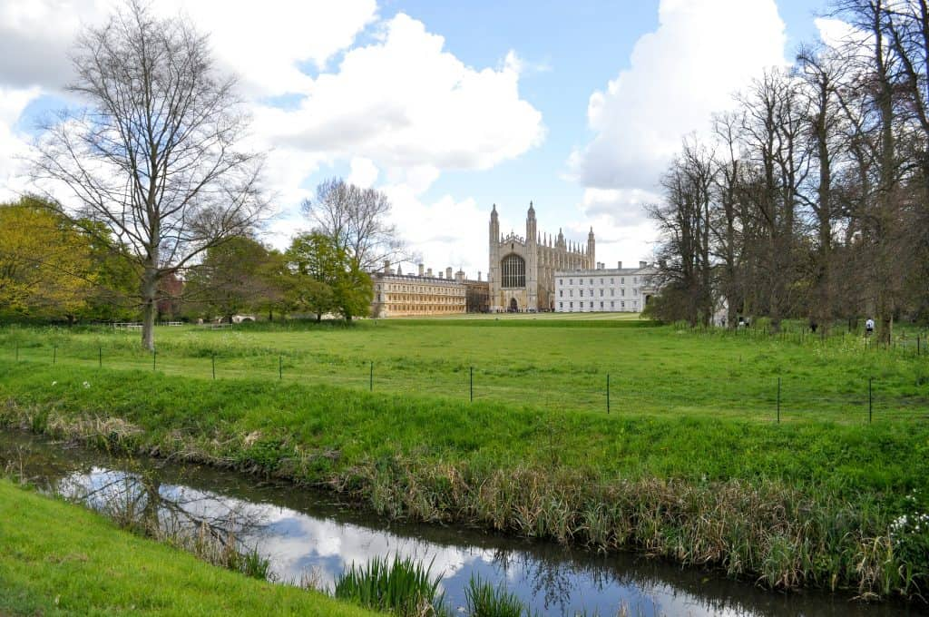 King's College Chapel in Cambridge, England | Oxford vs Cambridge: The best English University town