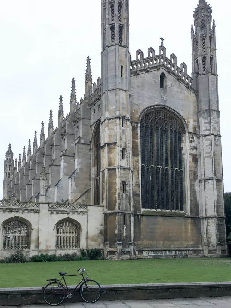 King's College Chapel in Cambridge, England