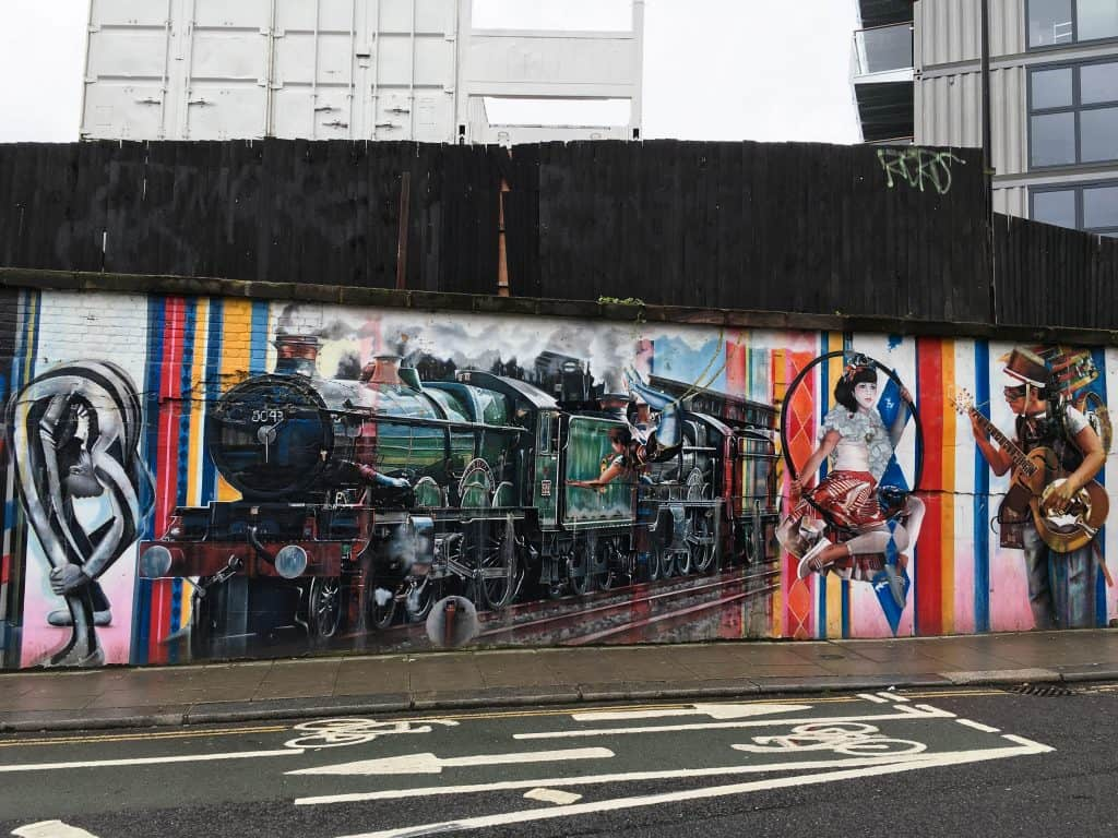 Camden Town Borough of London Street Art | Street Art Tours: the best way to discover the living city