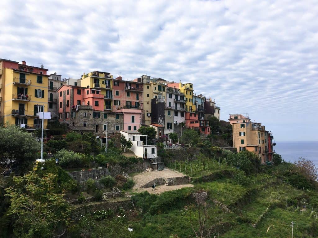 The Cinque Terre Italy Corniglia Italian Riviera