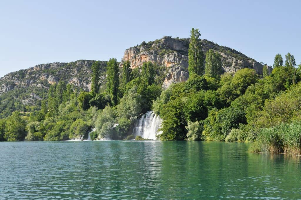Krka National Park Roski Slap Waterfalls Croatia