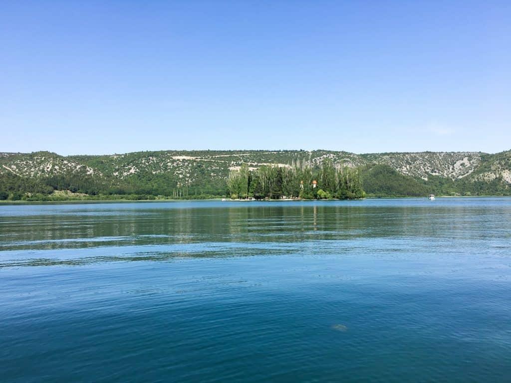rka National Park Visovac island Croatia