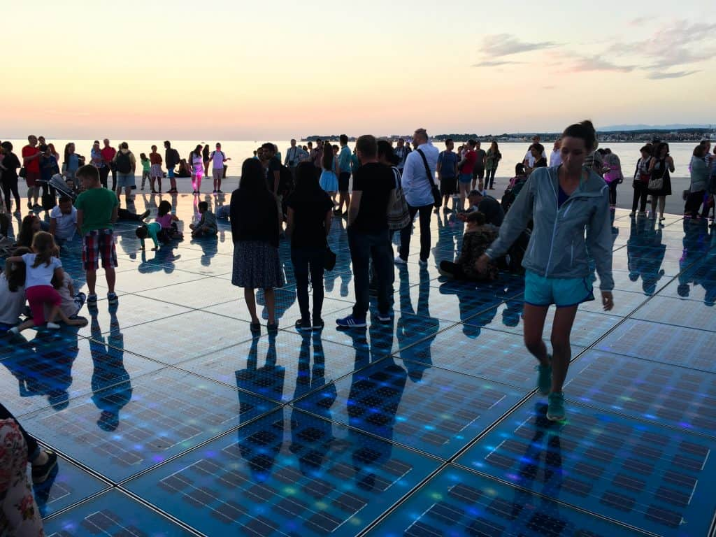 Croatia Zadar Greeting to the Sun