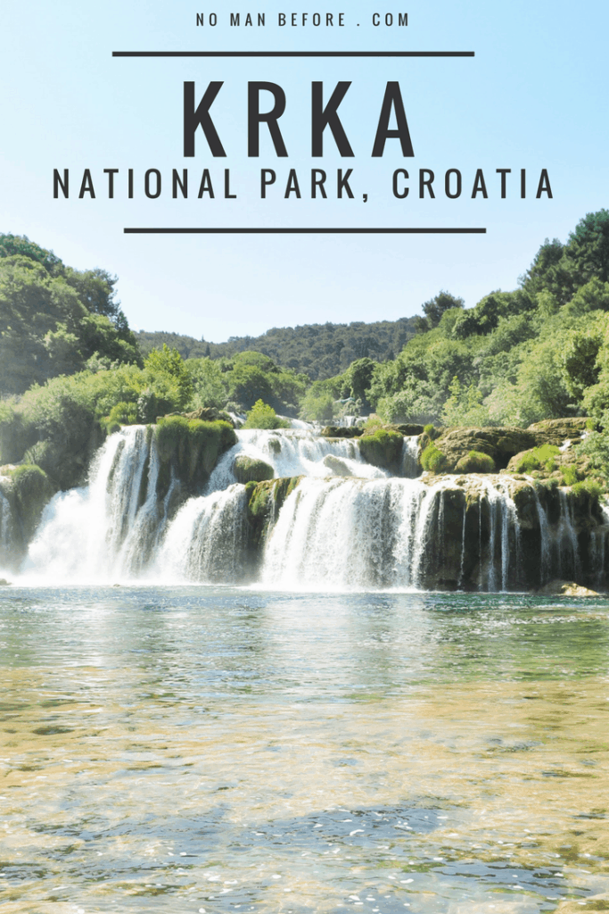 Swimming in Krka National Park, Croatia | Skradinski Buk Waterfalls #croatia #europe