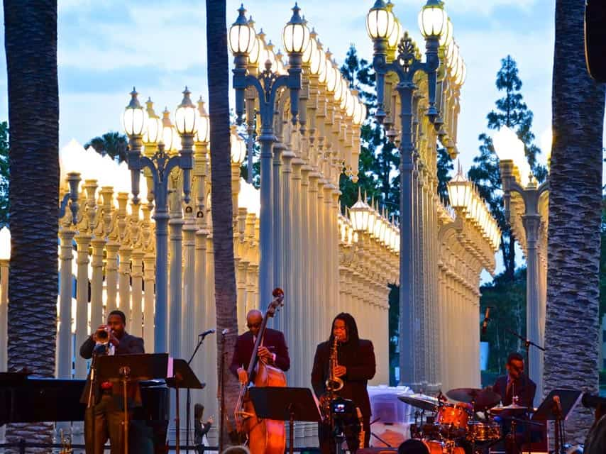 Los Angeles Free Summer Concerts LACMA Friday Night Jazz