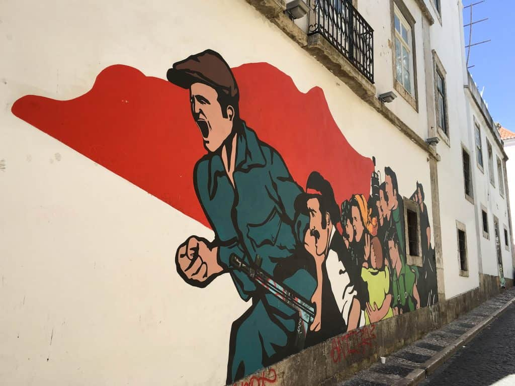 Lisbon Street Art in Barrio Alto | Street Art Tours: the best way to discover the living city