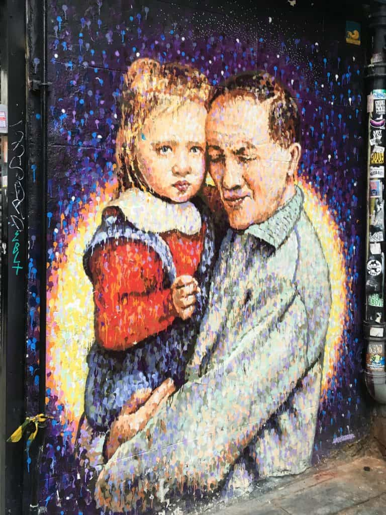 Street art in Brick Lane area of London's East End | Street Art Tours: the best way to discover the living city