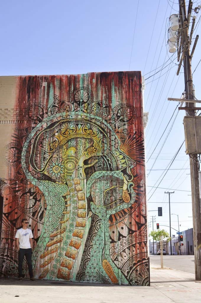 Street art mural in downtown Los Angeles | Street Art Tours: the best way to discover the living city