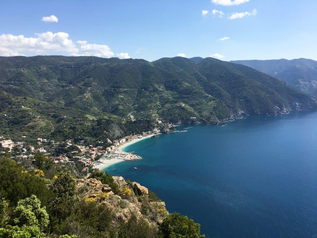 5 Tips for Hiking in the Cinque Terre | View of Monterosso al mare on the hike to Levanto, Italy